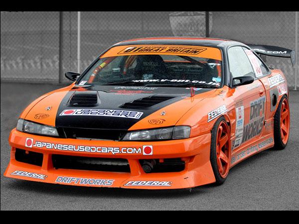 Driftworks winning ex Silvia S14 - Farmofminds