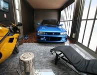impreza 22b garage