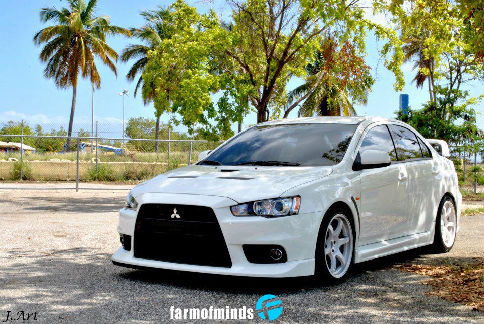 Reader S Car Arnaldo S Wicked White Evo X Farmofminds