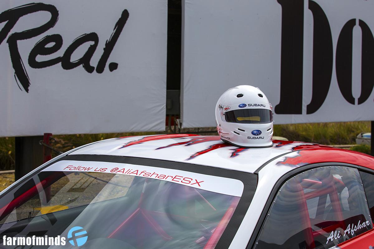 subaru brz drag race car
