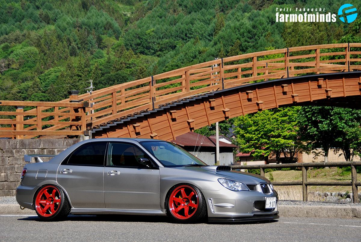 Subaru Impreza STI stance