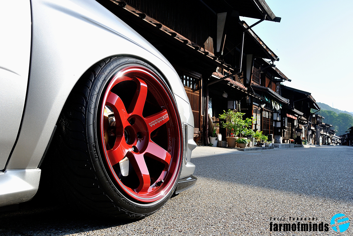 Rays TE37 wheels