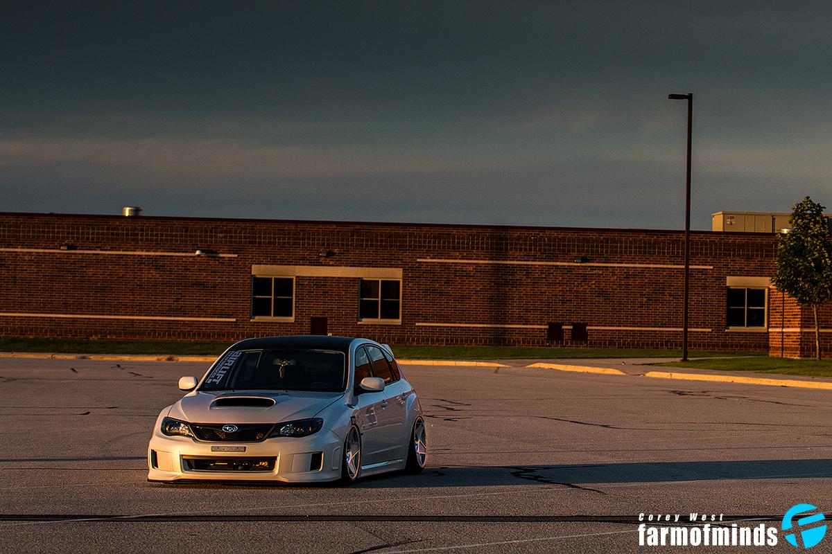 Subaru Impreza stance