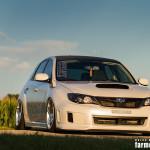 slammed Subaru Impreza WRX