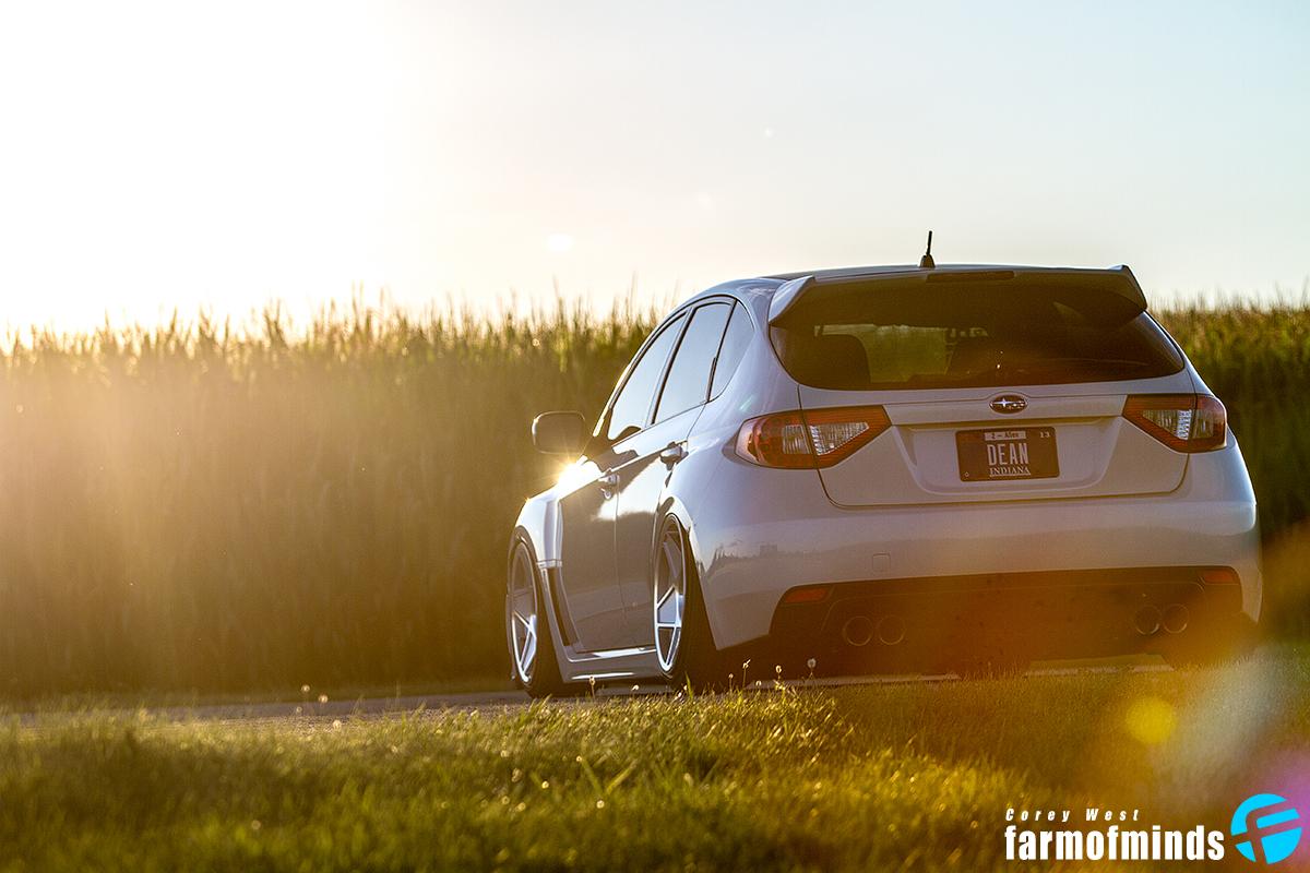 Subaru Impreza WRX stance
