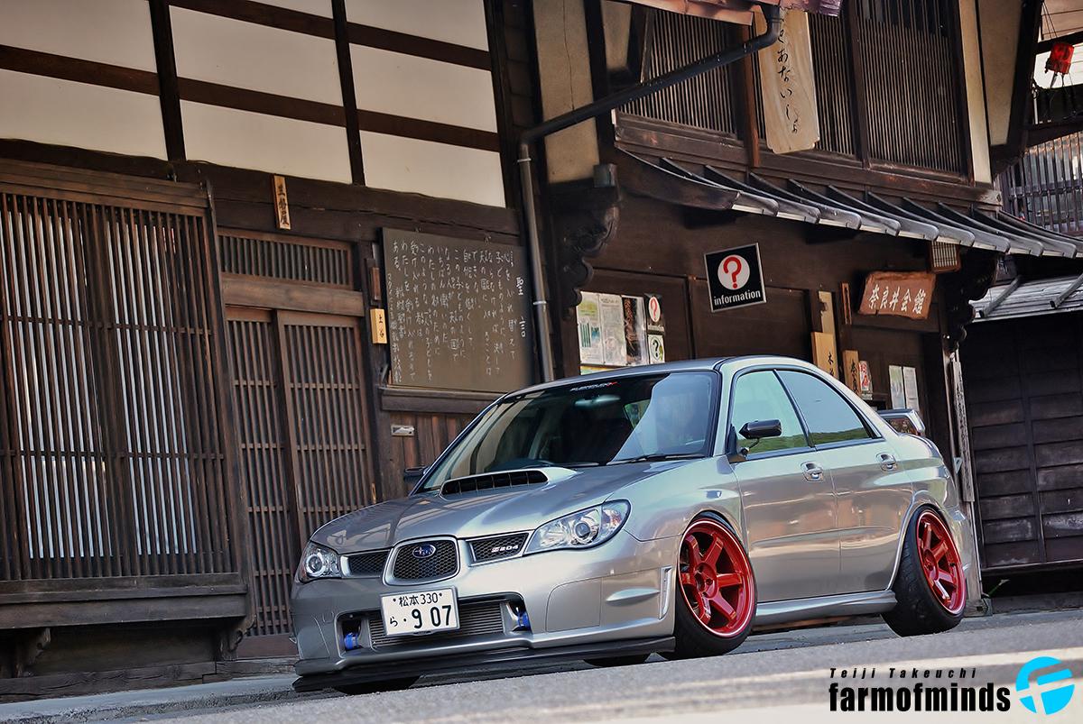 Stanced Subaru Impreza STi
