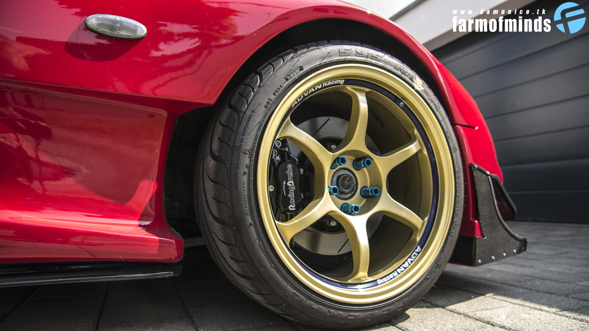Advan RG wheels