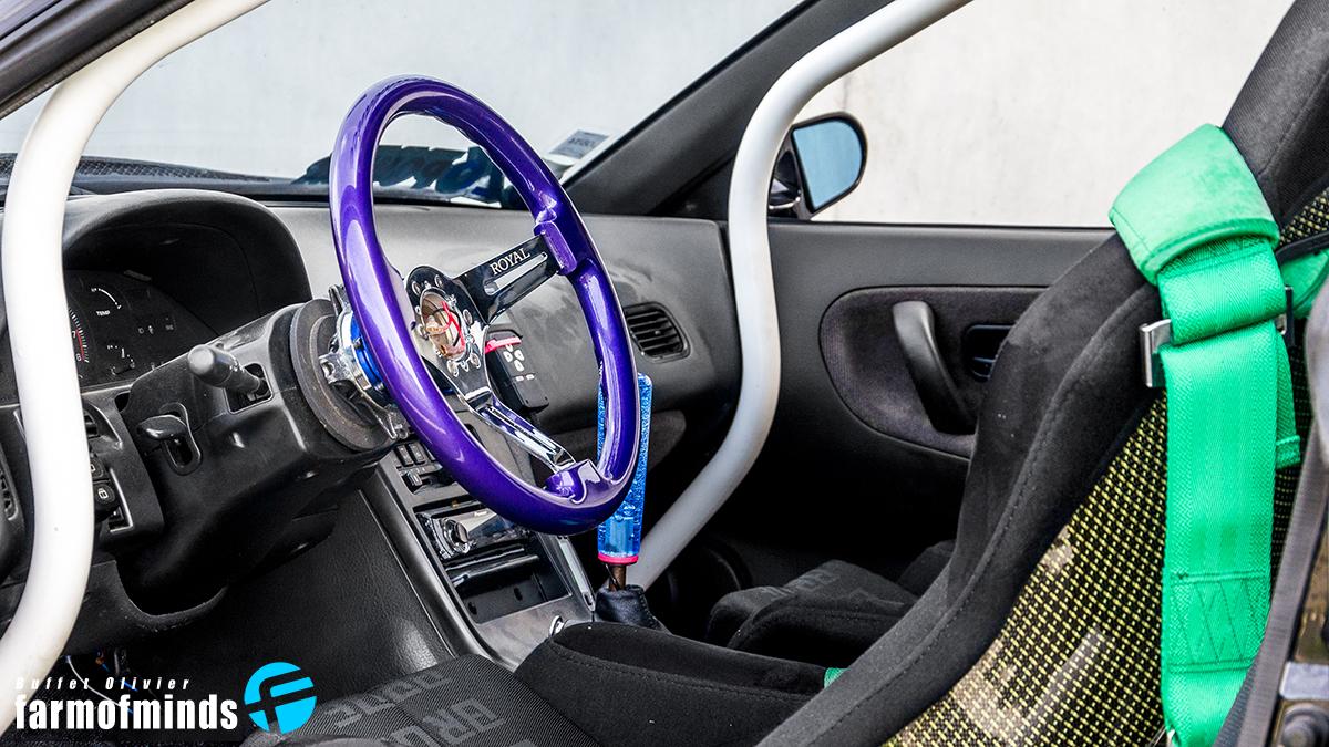 Nissan S13 interior