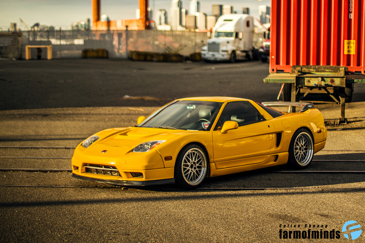 Honda NSX sports car