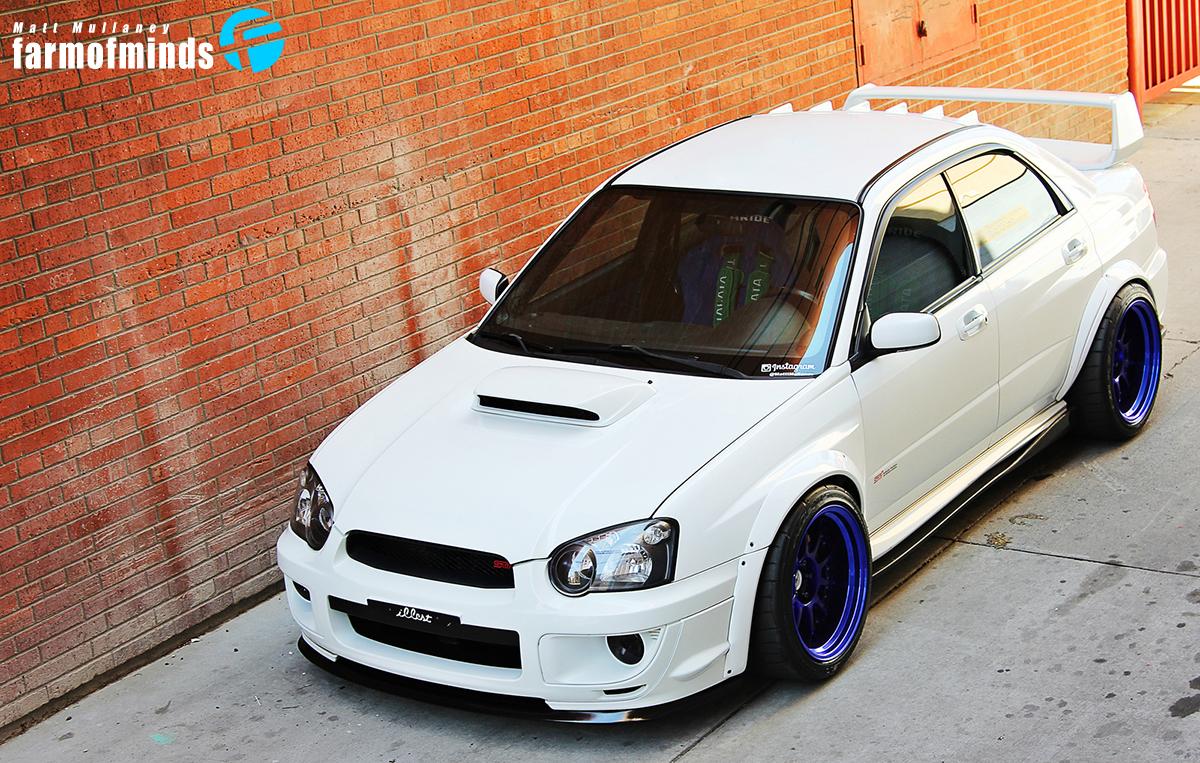Subaru Impreza stance sti
