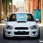 Subaru Impreza STi front