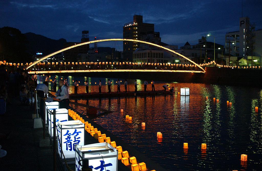 annual obon festival in japan