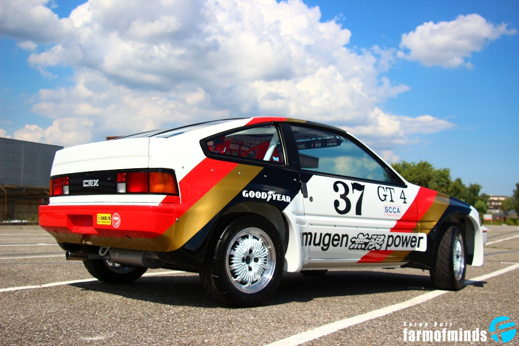 Honda CRX rear