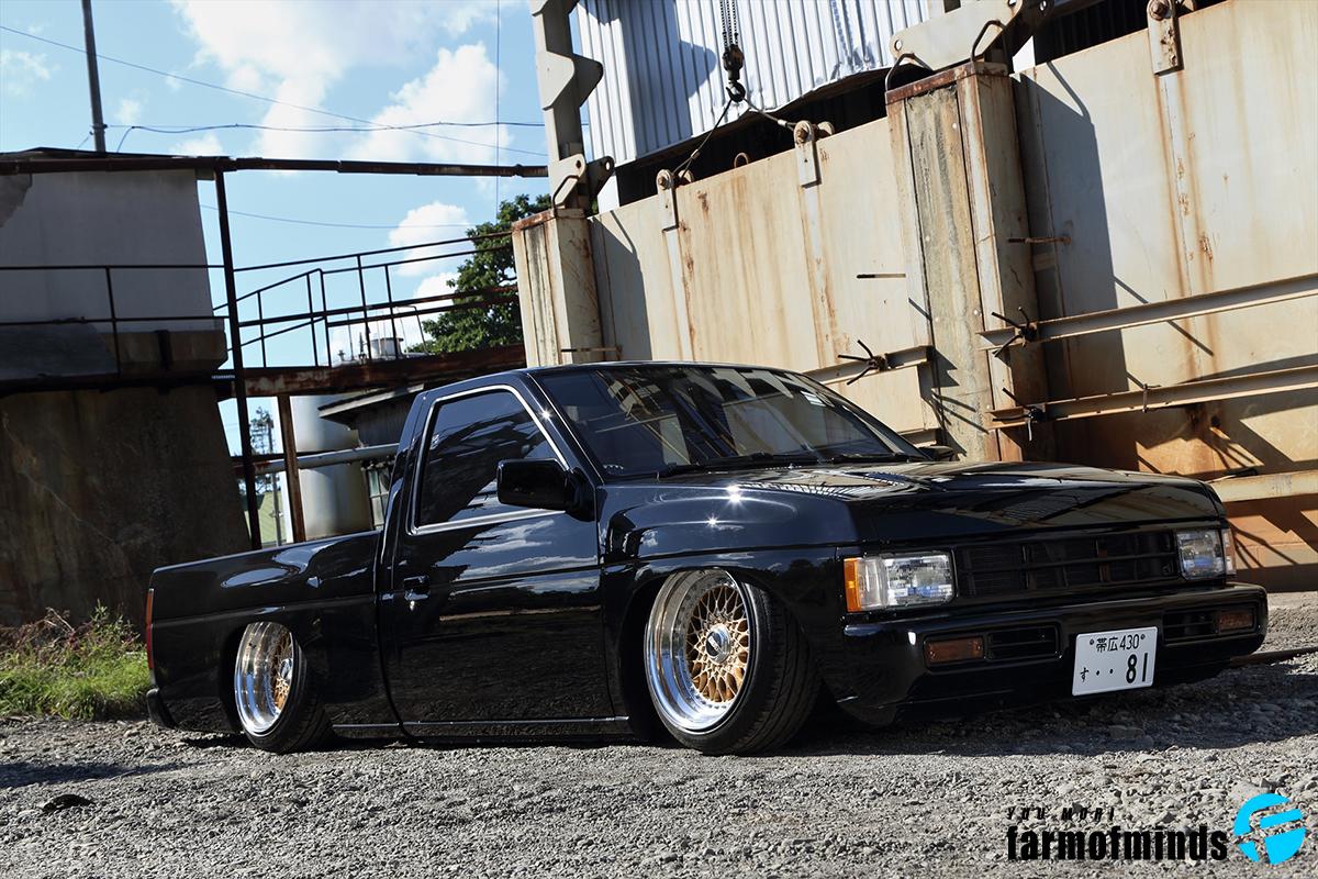 Nissan D21 truck