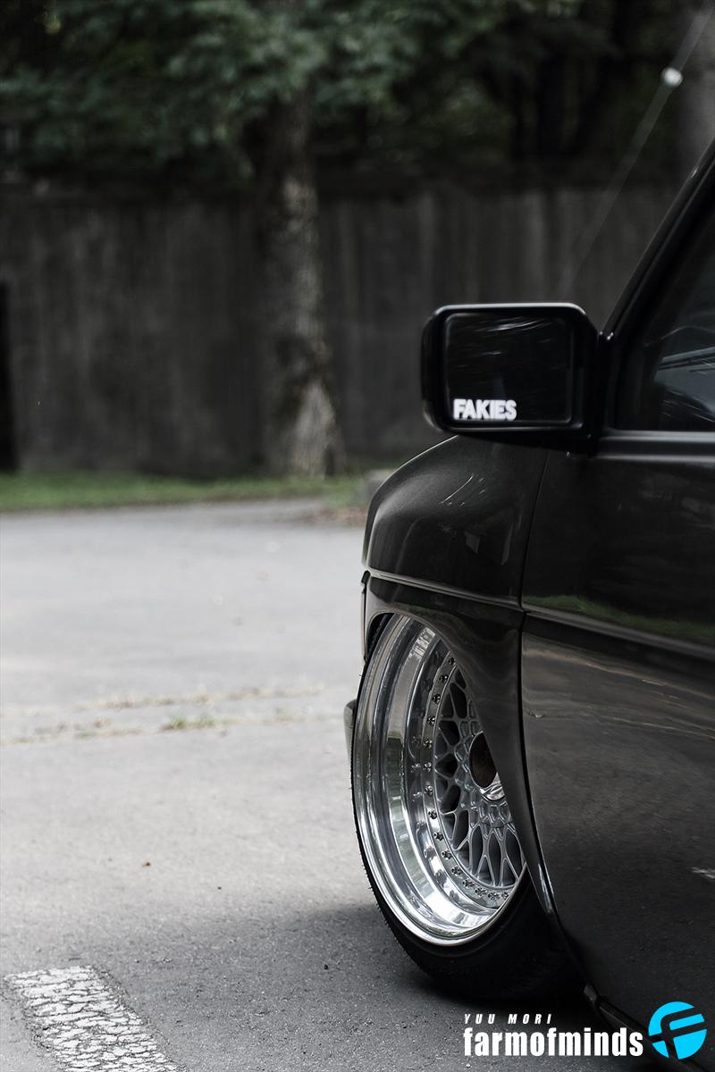 Nissan D21 pickup truck