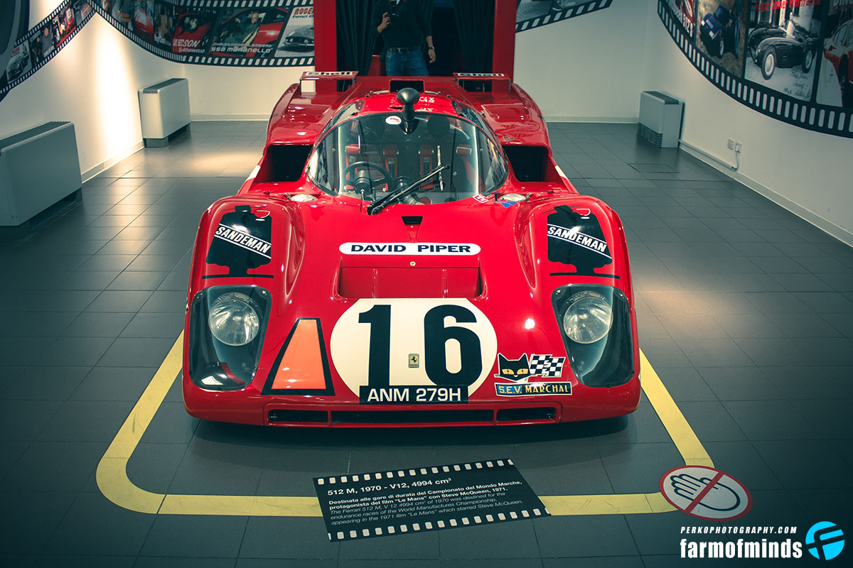 Ferrari 512 M race car