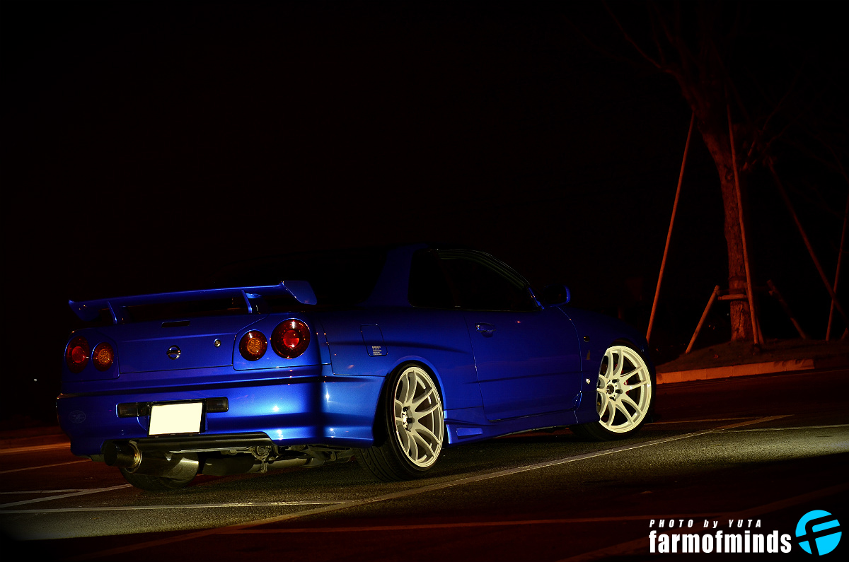 Nissan Skyline R34 GT-T (34)