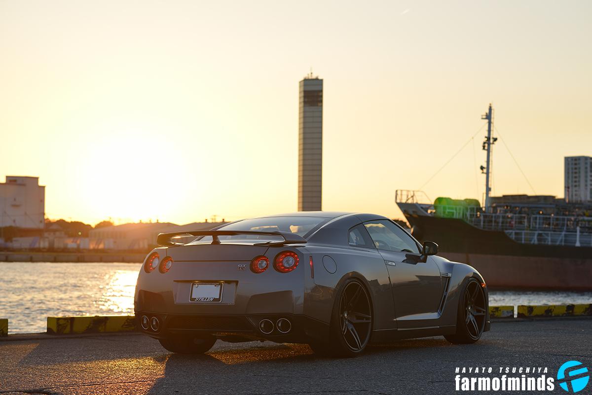 R35 GTR sunshine