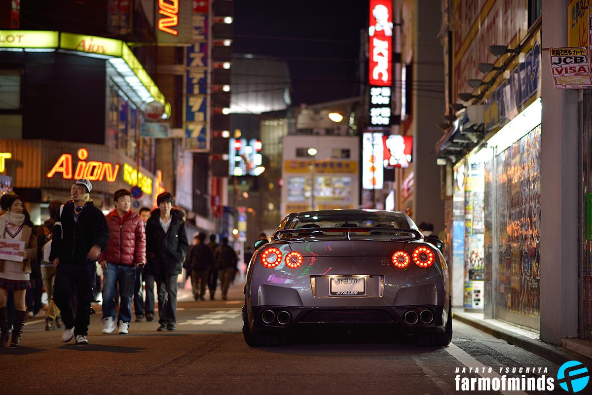 GTR in Tokyo