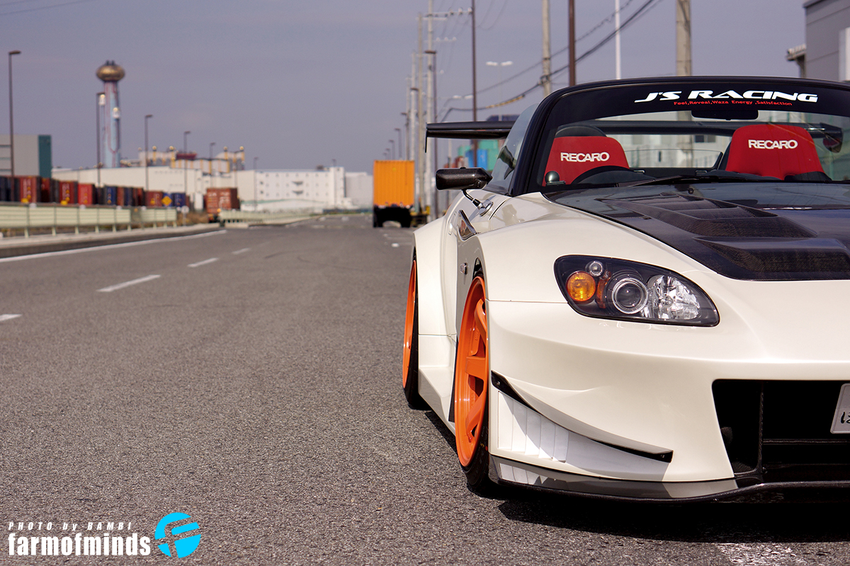 J's Racing Honda S2000 bodykit