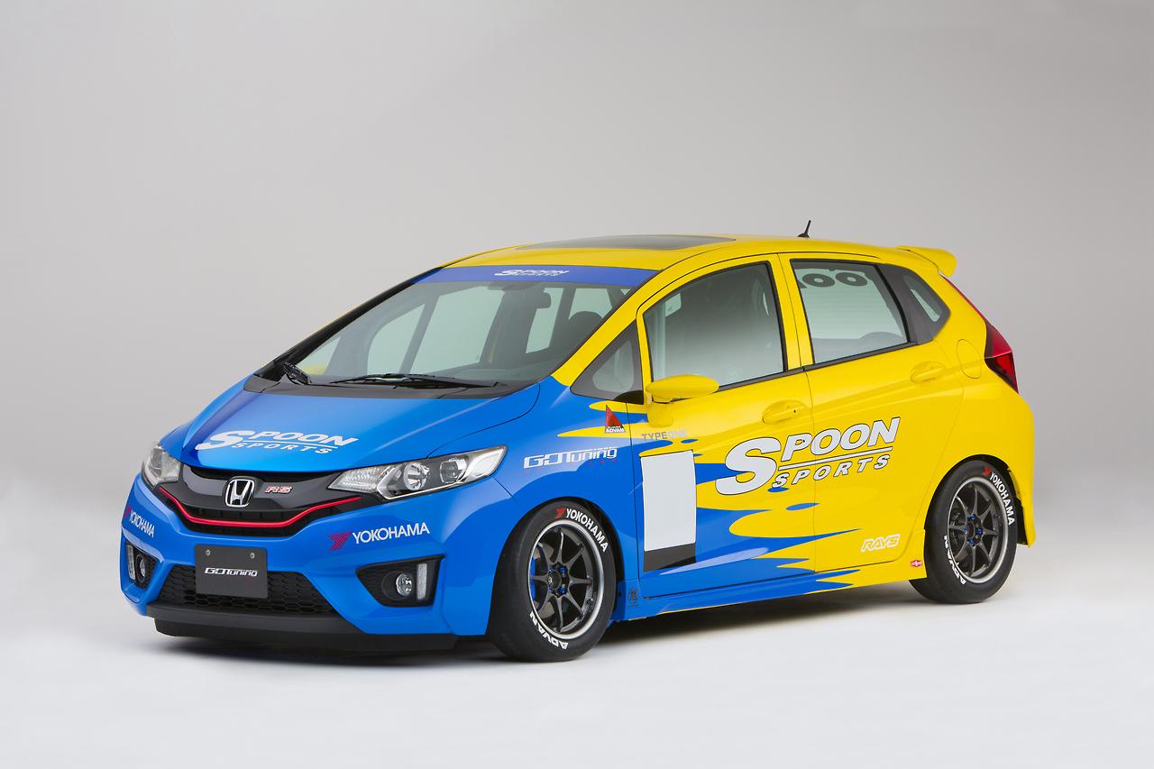 Spoon Sports Super Taikyu Honda Fit Farmofminds