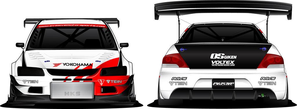 Evasive Motorsports Evo IX