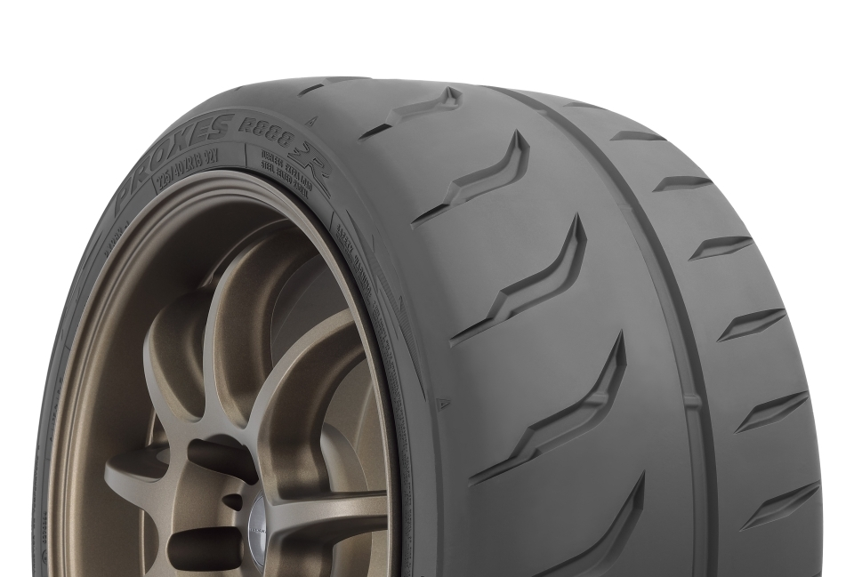 New Toyo R888R Ultra High Performance Tires