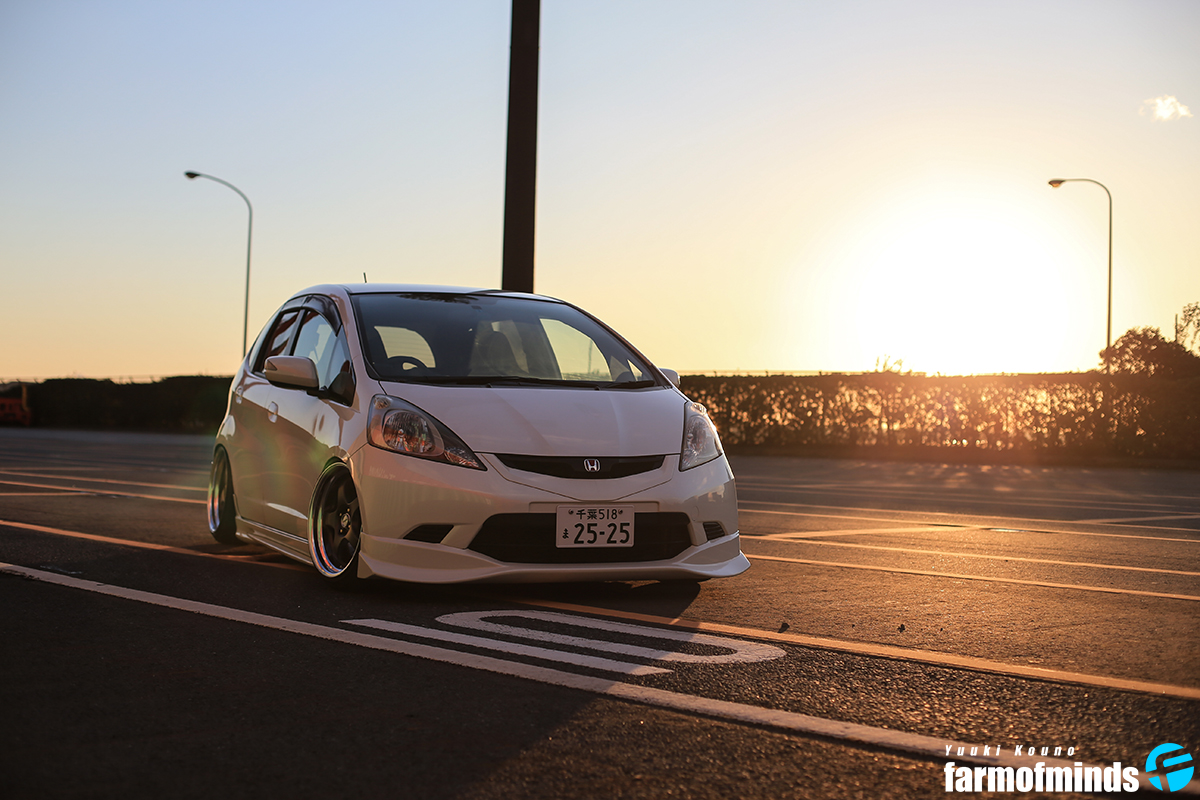 Stance Honda Fit (1)