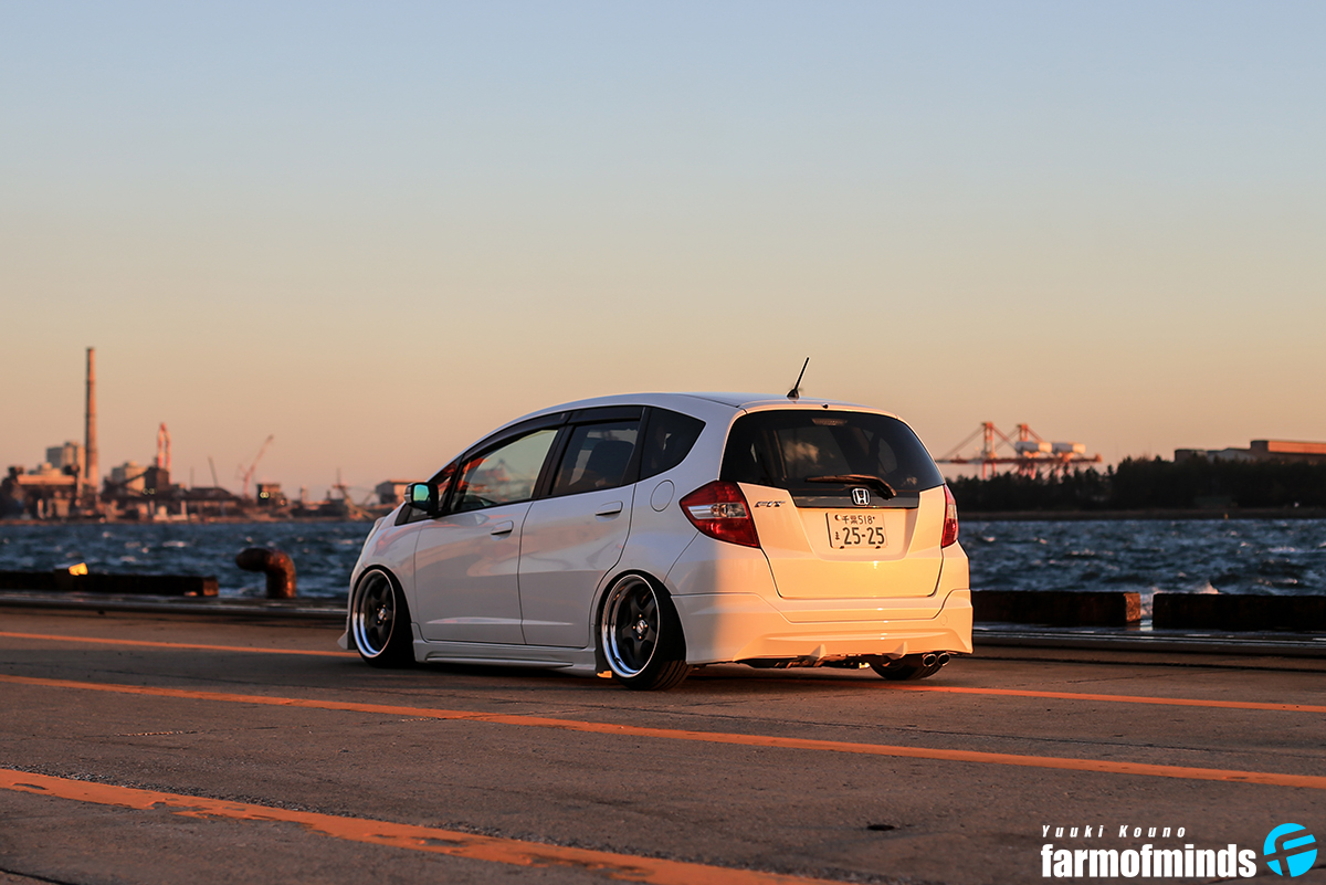 Stance Honda Fit (2)