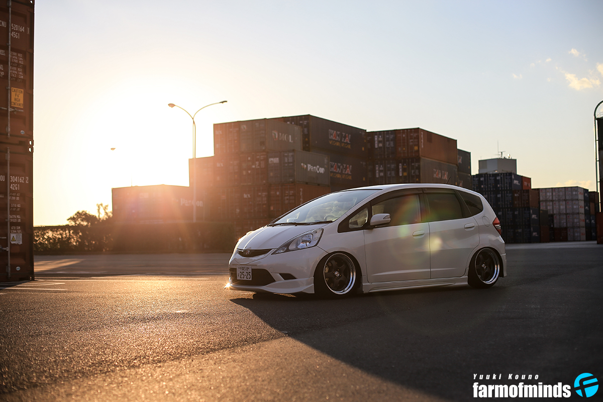 Stance Honda Fit (5)