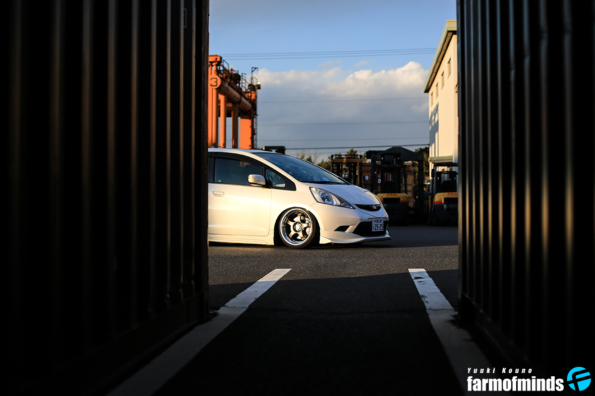 Stance Honda Fit (6)