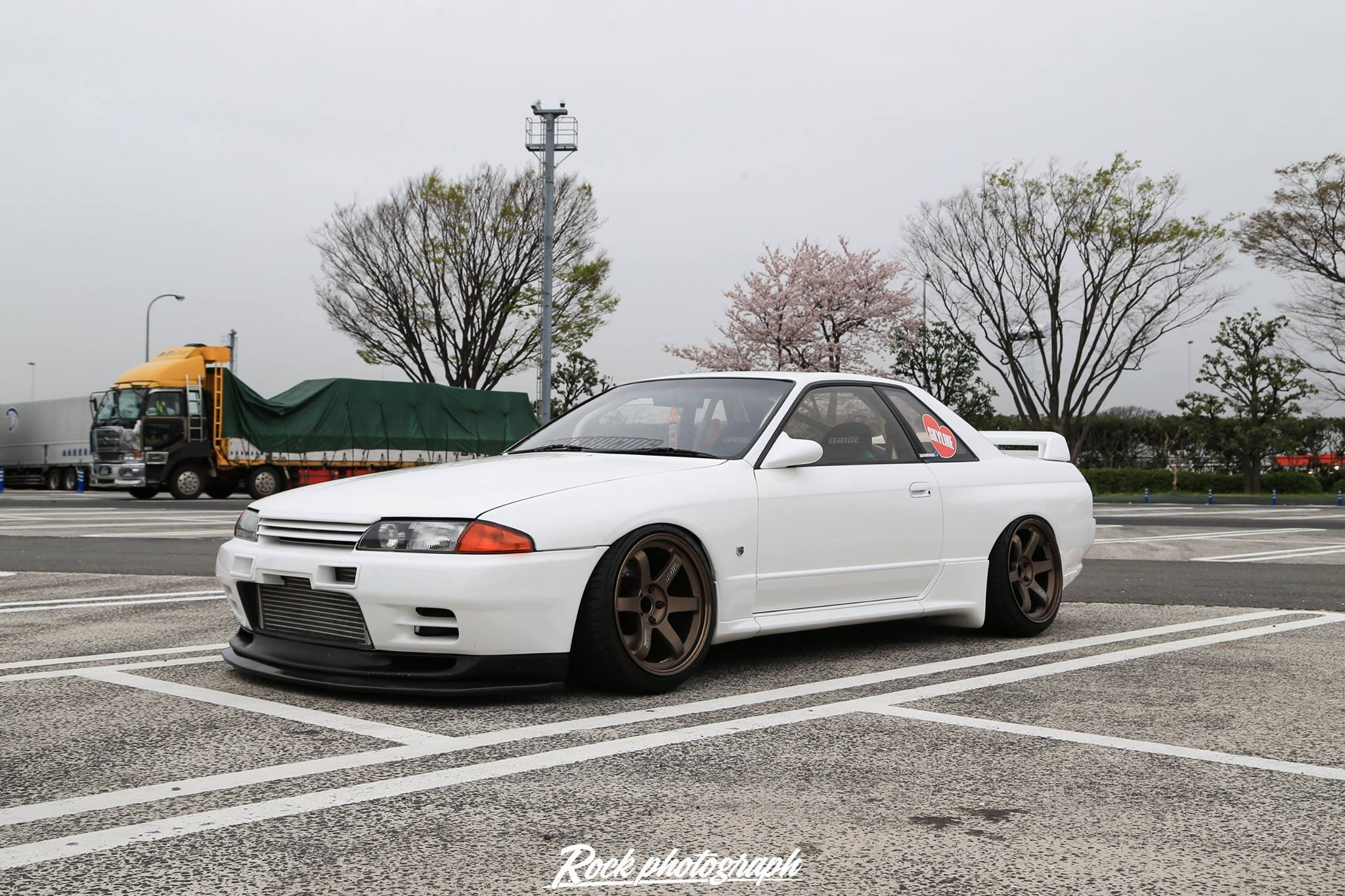 R32 GT-R on TE37 wheels - Farmofminds